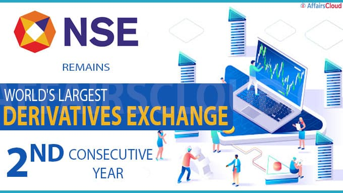 NSE remains world's largest derivatives exchange for 2nd consecutive year