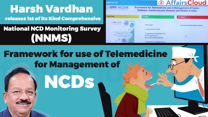National-Non-communicable-Disease-Monitoring-Survey-(NNMS)'-and-'Framework-for-Telemedicine-use-in-Management-of-Cancer,-Diabetes,-Cardiovascular-Disease-and-Stroke-in-India'-Released