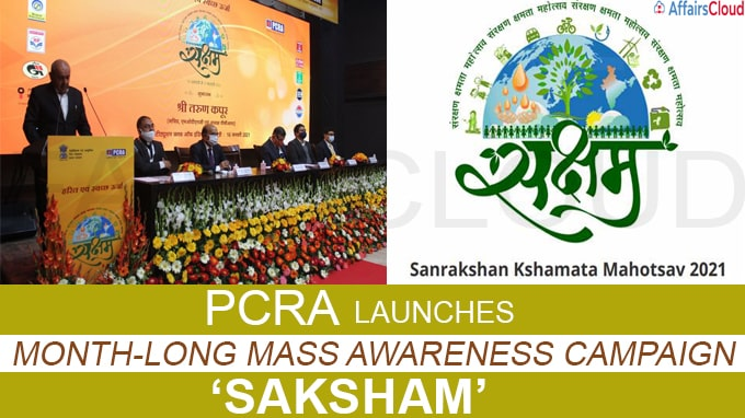 PCRA launches month-long mass awareness campaign