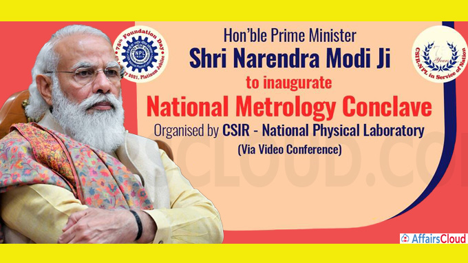 PM delivers inaugural address at National Metrology Conclave