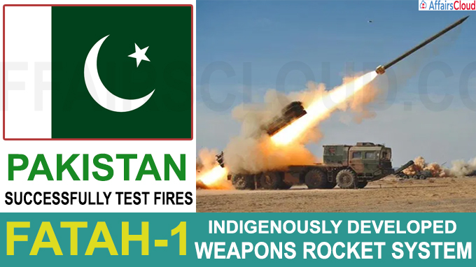 Pakistan successfully test fires indigenously devel