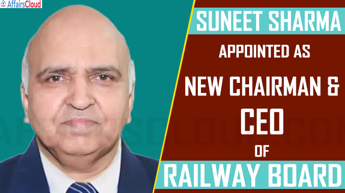 Suneet Sharma takes over the charge of new Chairman