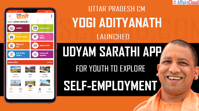 UP CM Adityanath launches Udyam Sarathi app for youth to explore self-employment
