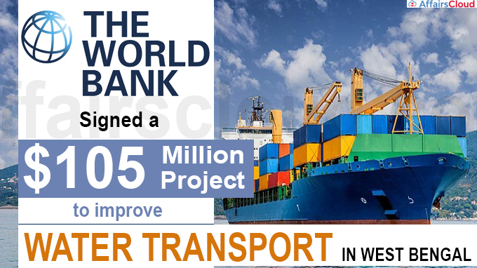 World Bank signs $105 million project