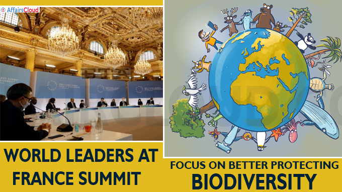 World leaders at France summit focus on better protecting biodiversity