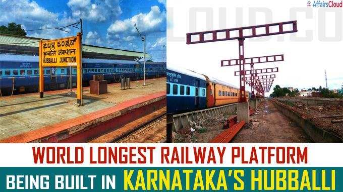 World longest railway platform being built in Karnataka