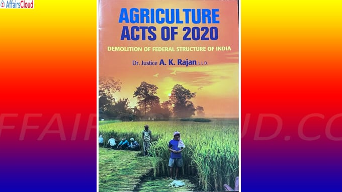 'Agriculture Acts 2020' is written by former Madra