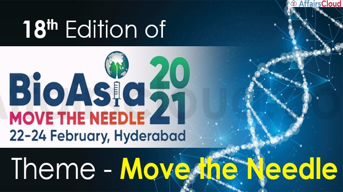 18th edition of BioAsia 2021