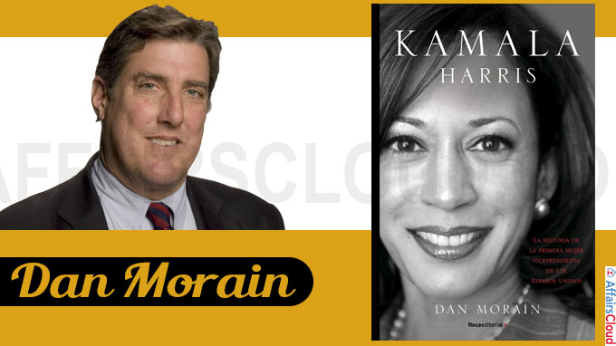 A book titled Kamala's Way by Dan Morain