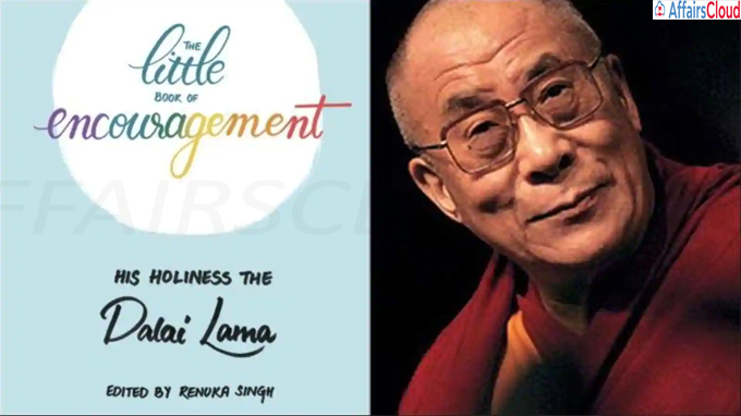 A book titled ''The Little Book of Encouragement'' by Renuka Singh