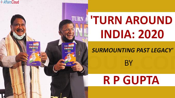 A book titled book 'Turn Around India