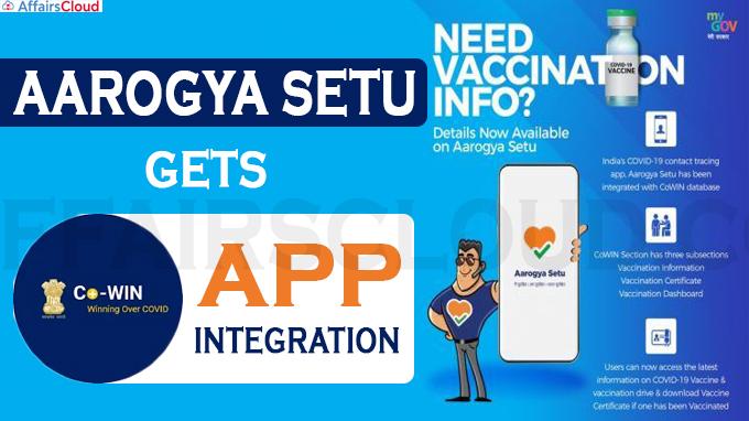 Aarogya Setu gets CoWIN app integration