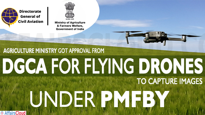 Agri min gets DGCA nod for taking drone-based crop images