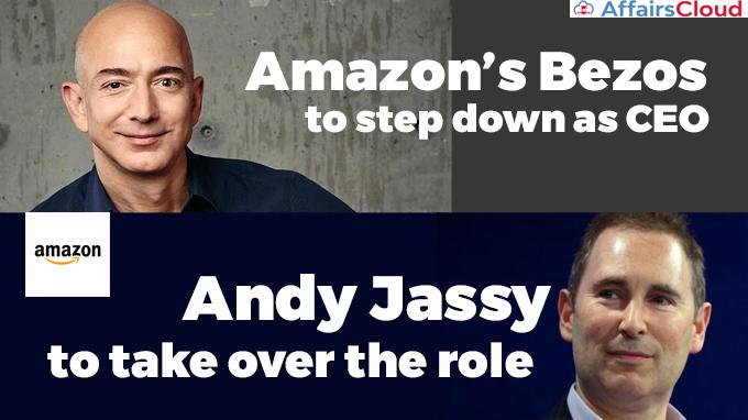Amazon's-Bezos-to-step-down-as-CEO