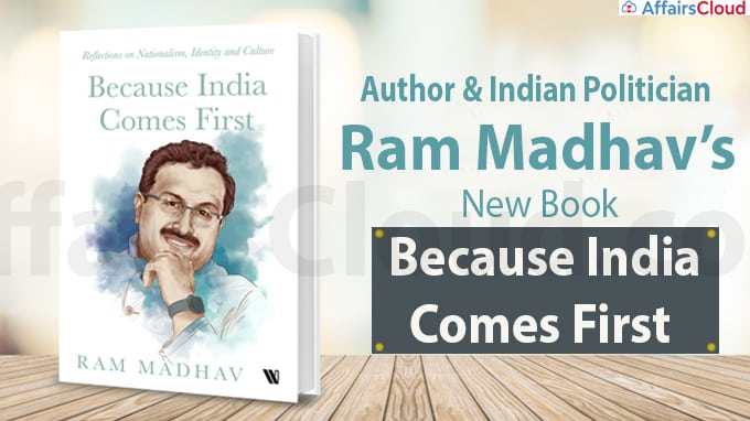 Author & Indian Politician Ram Madhav's New Book