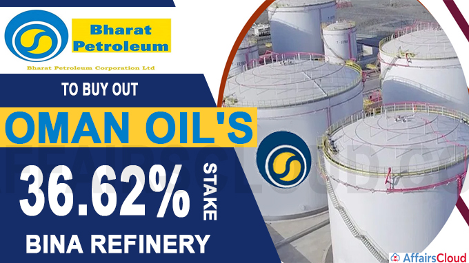 BPCL to buy out Oman Oil's