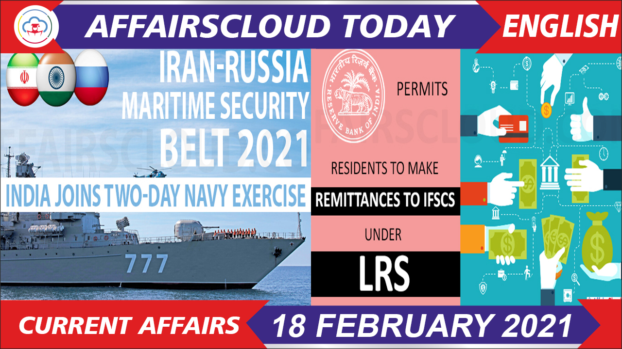 Current Affairs 18 February 2021 English