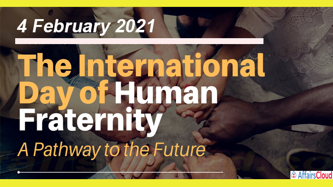 First-ever International Day of Human Fraternity