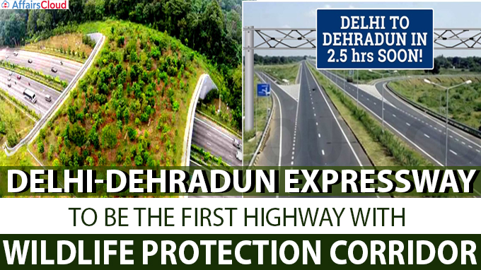 First highway with wildlife protection corridor