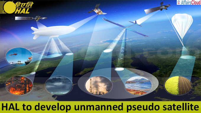 HAL to develop unmanned pseudo satellite
