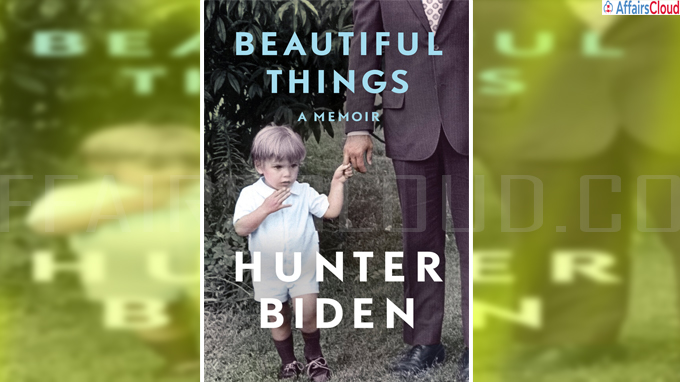 Hunter Biden's announces book titled 'Beautiful Things'