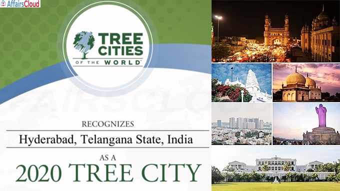 Hyderabad recognised as a '2020 Tree City of the World