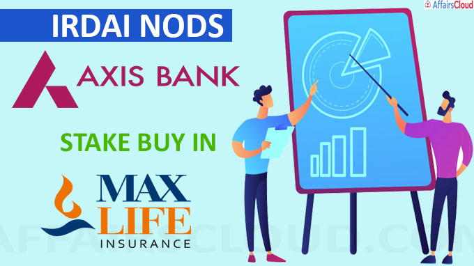 IRDAI nods Axis Bank's stake buy in Max Life Insurance