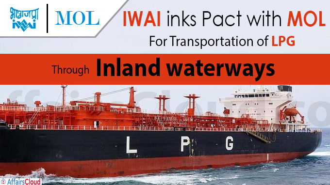 IWAI inks pact with MOL
