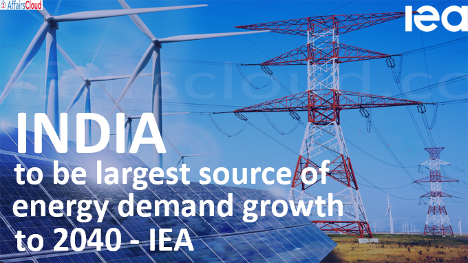 India to be largest source of energy demand growth to 2040 - IEA