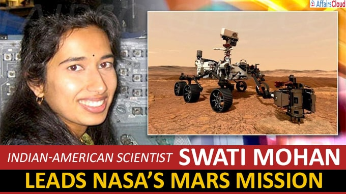 Indian-American scientist Swati Mohan leads NASA's Mars mission