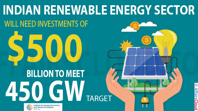 Indian renewable energy sector will need investments