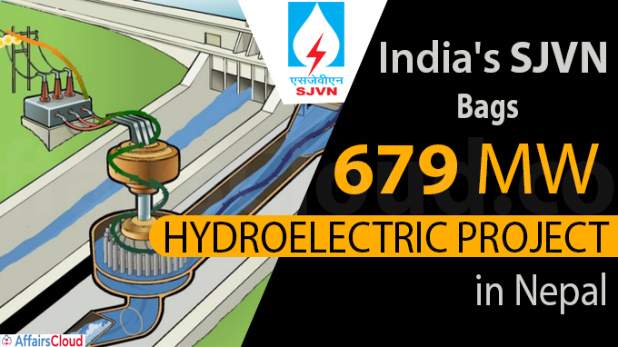 India''s SJVN bags 679 MW hydroelectric project