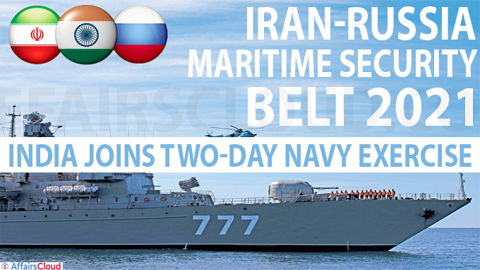 Iran-Russia Maritime Security Belt 2021