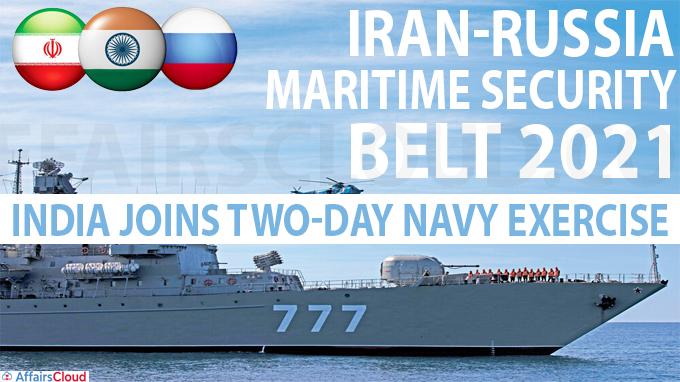Iran-Russia Maritime Security Belt 2021
