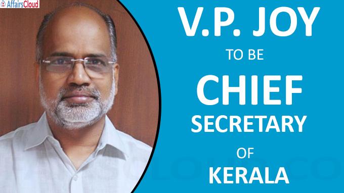 Joy to be Chief Secretary of kerala