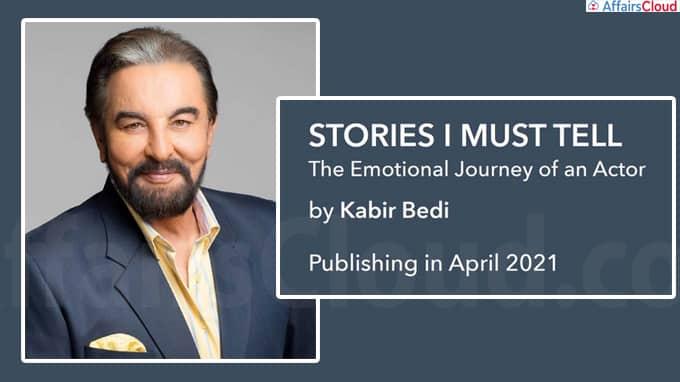 Kabir Bedi's memoir Stories I Must Tell will be released in April