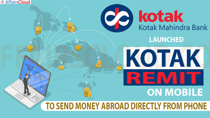 Kotak Remit on mobile