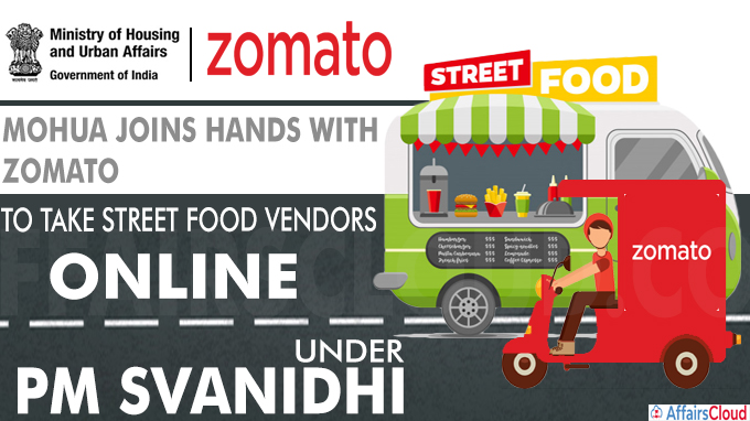 MOHUA Joins Hands with Zomato to Take Street Food Vendors Online Under PM