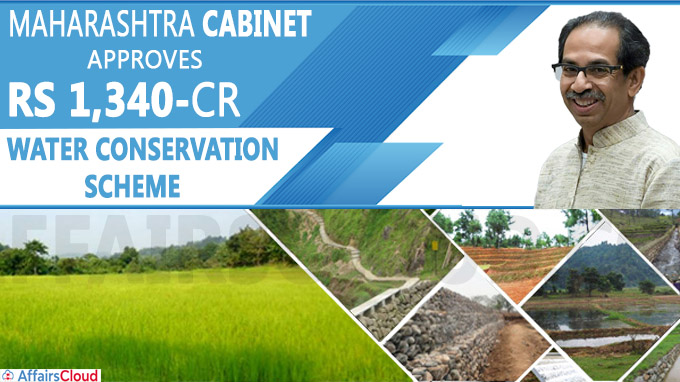 Maha cabinet approves Rs 1,340-crore water conservation scheme
