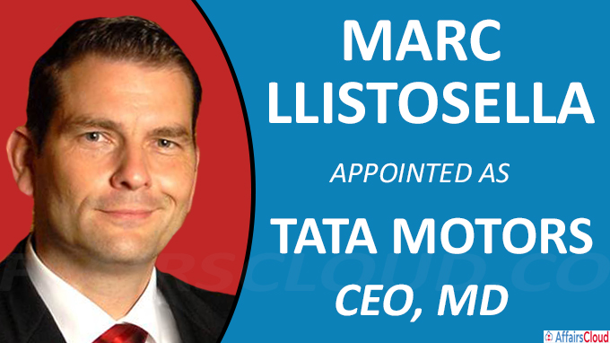 Marc Llistosella appointed as new Tata Motors