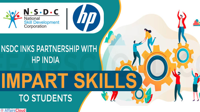 NSDC inks partnership with HP India to impart skills to students