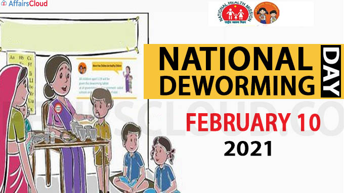 National Deworming Day 2021
