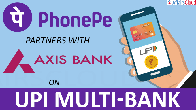 PhonePe partners with Axis Bank on UPI Multi-Bank