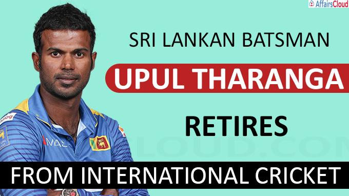 Sri Lankan batsman Upul Tharanga retires from international cricket