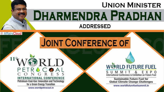 Union Minister Dharmendra Pradhan addresses Joint Conference