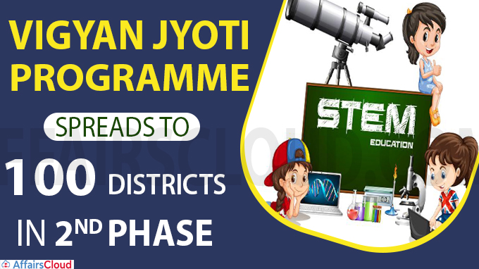 Vigyan Jyoti programme spreads to 100 districts in 2nd phase