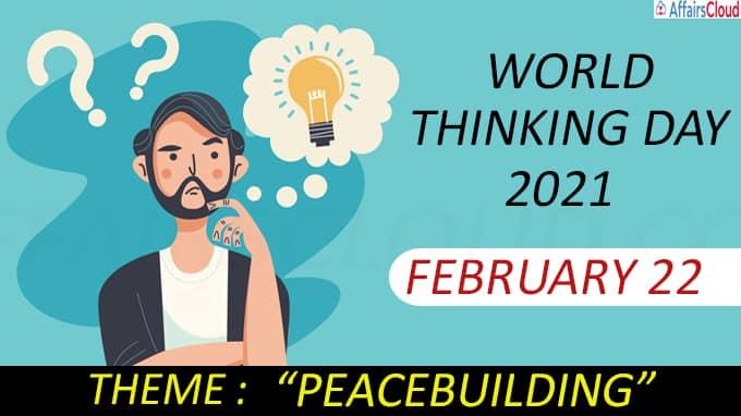 World Thinking Day 2021-February 22