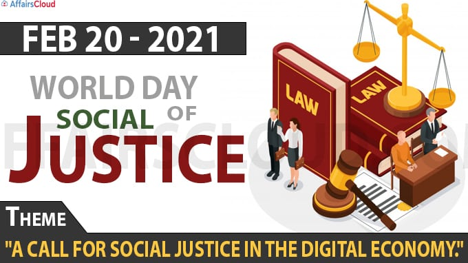 world day of social justice 2021