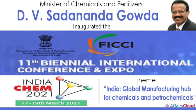 11th Edition of India Chem 2021 in New Delhi new
