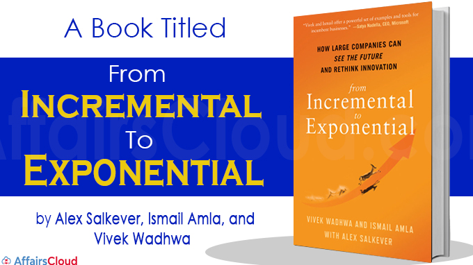 A book titled From Incremental to Exponential